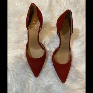 Banana Republic Women's Red Pumps Size 8.5